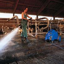 Nettoyeur haute pression triphasé eau froide 200 bars POSEIDON 5-54XT
