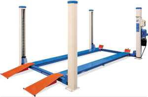 Pont élévateur 4 colonnes 3.5T