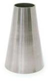 Réduction concentrique sans partie droite sms inox 316L 104-63mm