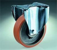 Roue fixe polyurethane AGF125