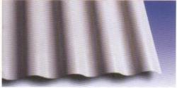 Tôle PVC 8 ondes mono-couches 600x18