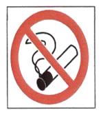 Panneau logo cigarettes bourre