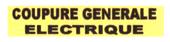 Panneau groupe générale électrique