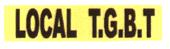 Panneau local T.G.B.T