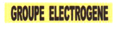 Panneau groupe électrogène