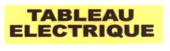 Panneau tableau électrique