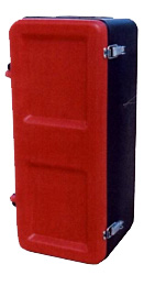 Coffret pour extincteur 6/9-rouge