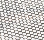 Tôle Perforée Inox TROU ROND 1mm