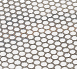 Tôle Perforée Inox TROU ROND 3mm