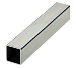 Tube aluminium carre 25