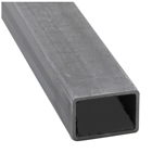 Tube noir rectangulaire 80X40