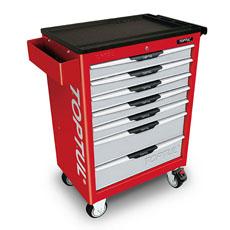 Servante 7 tiroirs 227 outils pro-line