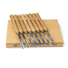 Jeu de 8 outils à bois