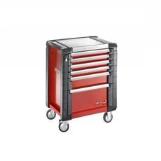 Servante JETM3 6 tiroirs rouge