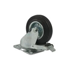 Roue pivotante avec frein à plaque EPBS/2 160 mm