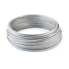 Câble acier galvanisé 6 x19 de 8