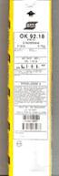 Electrode Fonte VACPAC OK 92.18