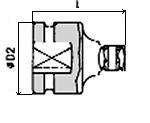 Réducteur 1X1.1/2