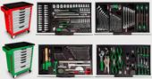 Servante 7 tiroirs 211 outils Mécanicien