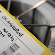 Fil A souder 18KG  acier 1,2 OK ARISTROD 12.50