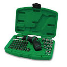 Jeu 54 outils 1/4 DLLE EMBOU