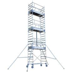 Echafaudage roulant en aluminium - Totem 2 Line 180-5M