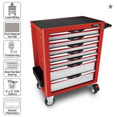 Servante Pro rouge 7 tiroirs