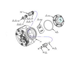 Kit vanne air - Pompe HUSKY 515 (241657) GRACO