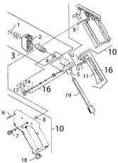Kit De Réparation Poignée 1118140